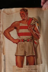 1927 Chesty Bond Rower
