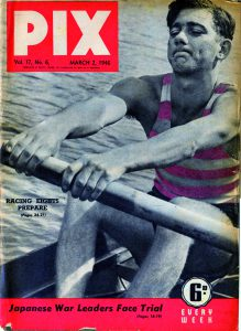 1946 pix cover featuring Wal Cocker