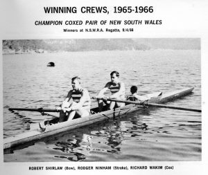 1966 coxed pair nsw champ