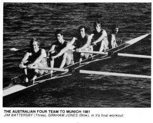 1981 aust cox four munich